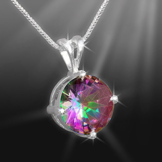 Stone Of Delight Mystic Topaz Necklace