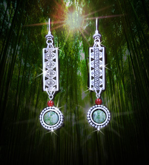 Forest Healer Magical Earrings - From The Age Of Magic Collection