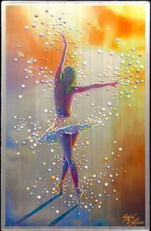 Sky Dancer.  Female Empowerment Original Energy Painting