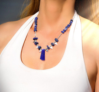 Lapis Visionary Seer's Energy Necklace - The only one that guarantees visions.*