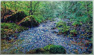 "Mountain Spring  ""Water Of Life""   - Original energy painting"