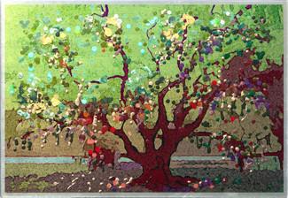 Father Oak   - Original energy painting