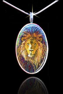 Lion Heart Energy Pendant