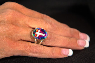 The Divine Energy Cross Ring