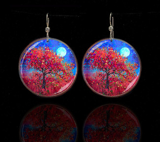 Harvest Moon - Abundance Blessing Earrings