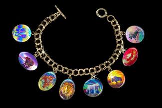 Powerful Spirit Guide - Animal Totem Metaphysical Charm Bracelet