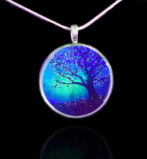 Firefly Tree Energy Pendant - Connect to the other side.