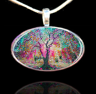 The Creation Tree Pendant - Create your reality