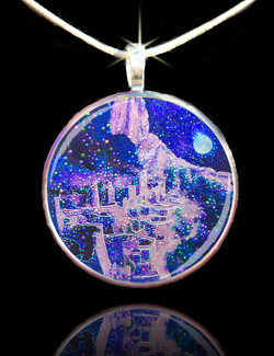Ghosts Of The Anasazi Pendant - Rediscover Nature's Harmonious Balance