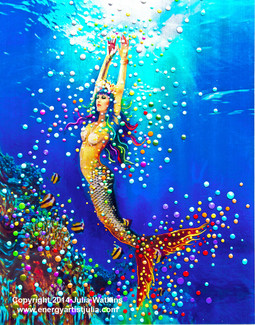Mermaid Dream - Giclee Print