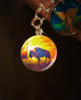 "Sacred Buffalo ""Easy Abundance"" Energy Charm"