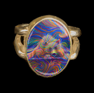 Medicine Bear Energy Ring