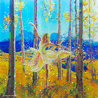 Aspen Dancer - Spirit Of The Trees - Giclee Print