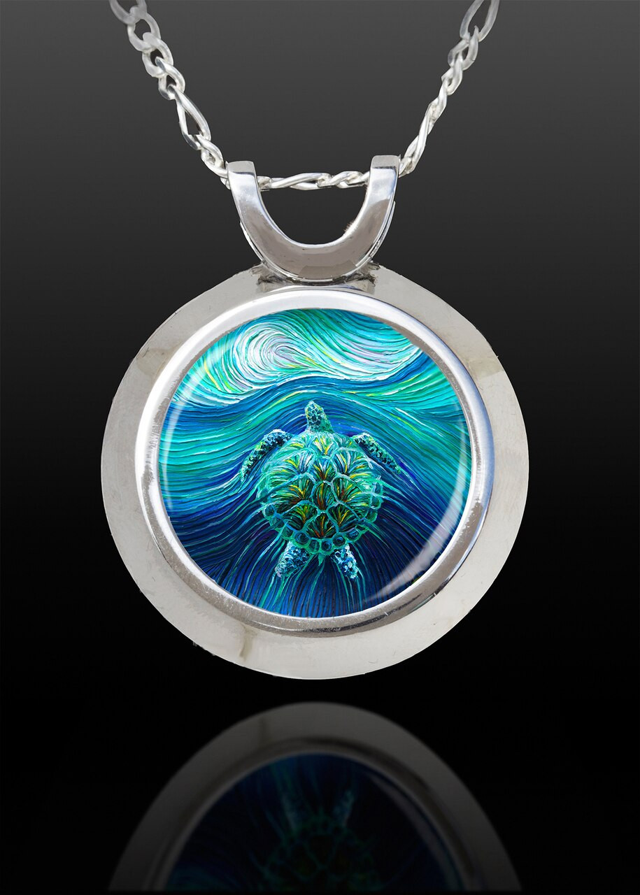 Turtle Spirit Magical Energy Pendant - From The Magical Chi Collection *