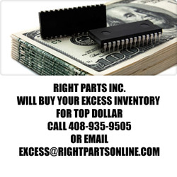 Excess electronic components IN   We pay the highest prices