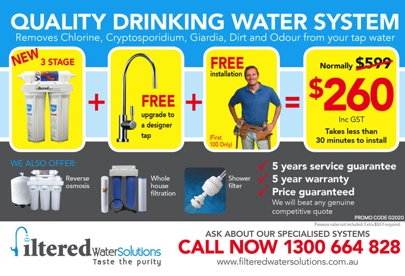 Filtered Water Solutions Brisbane
