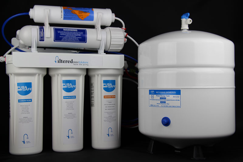 five stage reverse osmosis water filter system