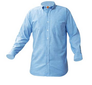 A+ Blue Oxford Male Long Sleeve
