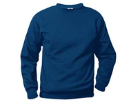 Sacred Heart Spirit Wear A+ Navy Fleece Crew Neck Sweatshirt with Logo  ***If sweatshirt needs name embroidered on the back there is an additional embroidery charge. Please email spelling of last name to EOBoise@gmail.com