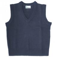 Classroom Navy V-Neck Pullover Vest