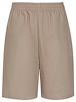 Classroom Unisex Pull On Shorts Khaki