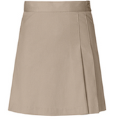 Classroom Double-Pleated Scooter Khaki
