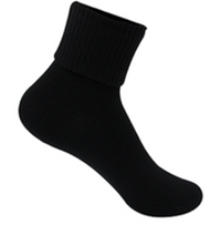 Classroom Female Triple Roll Sock (3pk) Black