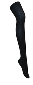 Classroom Female Cable Knit Tights Black