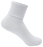 Classroom Female Triple Roll Sock (3pk) White