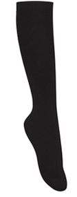 Classroom Female Opaque Knee-High Socks (3pk) Black