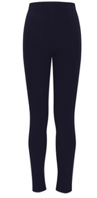 Classroom Girls Leggings Dark Navy Leggings are to be worn UNDER skirts, skorts and jumpers. They are not to be worn alone.
