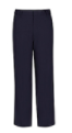 Classroom Slim and Husky Flat Front Adjustable Pants Navy