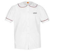 PP A+ Peterpan Short Sleeve w/Red Piping with LOGO