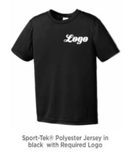 T Sport Tek Tee Shirt with Logo