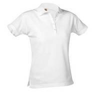 Female White Polo NO logo