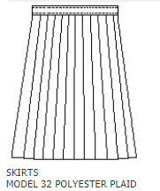Knife Pleat Skirt