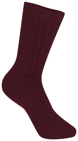 SO Three Pack Crew Socks Maroon/Burgundy