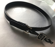 "BE Leather Belt 1"" Black with Velcro Closure (optional item)"