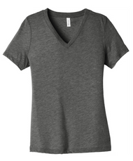 Grey Product Description Relaxed fit Tear-away label Side seamed Solid Colors: 4.2-ounce, 100% Airlume combed and ring spun cotton, 32 singles Triblend Colors: 3.8-ounce, 50/25/25 poly/Airlume combed and ring spun cotton/rayon, 40 singles