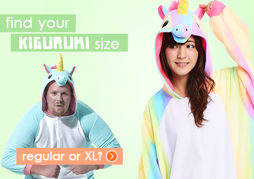 Find Your Kigurumi Size. XL or Regular?
