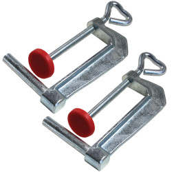 Bessey TK-6 - Clamp accessory, table Clamps (pair), fits S-10, WS-3, WS-6, KR3, KRV