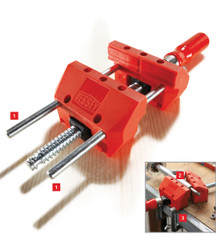 Bessey S-10 - Vise, portable mini vise, 4 In. Opening