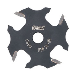 "Freud -  3/32"" Slot Four Wing Slotting Cutter - 58-106"
