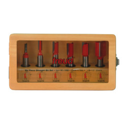Freud -  6 Piece Straight Bit Set - 91-102