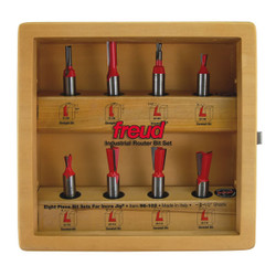 Freud -  8 Piece Bit Sets for Incra Jig® - 96-102