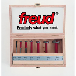 "Freud -  1/4"" to 1-3/8"" (Dia.) 7pc. Forstner Bit Set - FC-107"