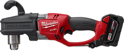 "Milwaukee 2707-22 - M18 FUEL™ HOLE HAWG® 1/2"" Right Angle Drill Kit"