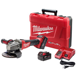 "Milwaukee 2781-22 - M18 FUEL™ 4-1/2"" / 5"" Grinder, Slide Switch Lock-On Kit"
