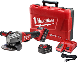 "Milwaukee 2780-22 - M18 FUEL™ 4-1/2"" / 5"" Grinder, Paddle Switch No-Lock Kit"