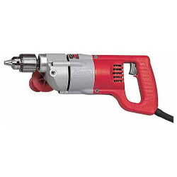 "Milwaukee 1250-1 - 1/2"" D-Handle Drill 0-1000 RPM"